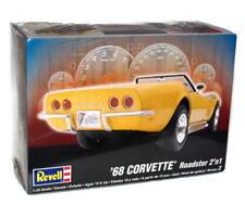 1968 Chevrolet Corvette Roadster 2'n1 Revell Model Kit 1:25 Scale
