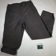 Woolrich Quarry Nylon Blend Roll Cuff Adjustable Pants Women's Size 8 Outdoor