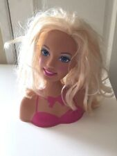 Girls Toy Barbie Blonde Cut and Style Head shoulders Hair style Play Fun Decor