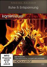 KAMINFEUER IN HD-QUALITÄT - Ruhe & Entspannung [Infoprogramm] (DVD) NEU