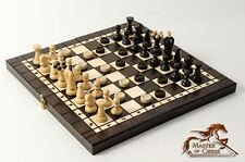 Stunning 3 in 1 ''KINGDOM'' Chess + Backgammon + Draughts Wooden Set !!!