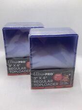 More details for ultra pro top loaders - 3x4 regular 35pt size - nba nfl tcg ccg pokemon (50-100)