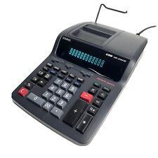 Casio DR-210TM Printing Calculator Heavy Duty 12 DigitsBlack - Tested