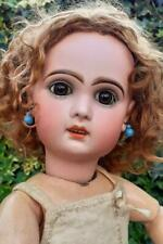 "Beautiful French 20"" Bebe Tete Jumeau Doll with open Mouth size 9 c1890"