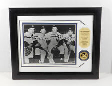 1961 Yankees Infield Signed Photo with Coin Highland Mint Framed DA025353