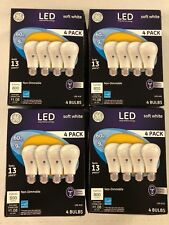 16 PACK GE LED 60W = 9W Soft White Non-DIMMABLE Light Bulbs NEW
