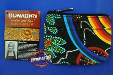 Australia Aboriginal Coin Key Ring Chain Purse Wallet Design Utinat EMU