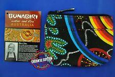 Australia Aboriginal Coin Keyring Chain Purse Wallet Design Utinat EMU