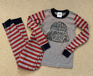 Hanna Andersson Star Wars Pajamas Long Shirt Sleeve Pants Set Darth Vader Sz 140
