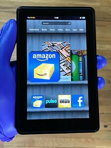 Amazon Kindle Fire D01400 Black 7.0 Inches Display Tablet