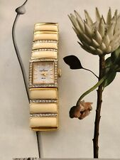 jules jurgensen Apropos Woman's watch A172YW Ivory Enamel And Crystals
