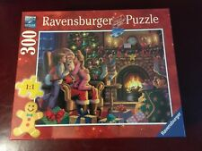 "NEW Ravensburger 300 Piece Christmas Puzzle Large Piece Format SEALED 27"" x 20"""