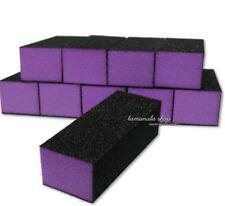 "Lot 5-30pc 4"" Nail File Buffer Polishing Block 4 Way Sanding Sponge Block"