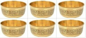 Indian Serving Tableware Bowl Traditional Brass Katori Kitchen Accessories