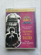 DOCTOR WHO The Power of the Daleks BBC AUDIO CASSETTE SET 1993 MINT