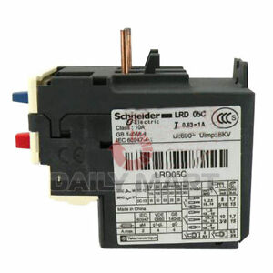 New Schneider thermal overload relay LRD05C LR-D05C 0.63-1A