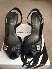 Nine West 100% Leather High (3-4.5 in.) Slim Women's Heels