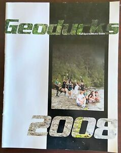 2008 The Evergreen State College Fall Sports Media Guide -- Near mint condition