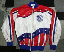Vintage 1989 Marine Corps Marathon Road Race, Full Zip, Tyvek Jacket, Small