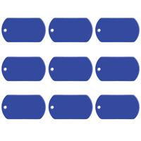 100pcs Wholesale Blank Aluminum Personalised Pet Dog Tags Personalised ID Tag