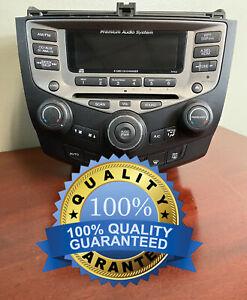 ✅ 03-07 Honda Accord Single Disc CD Player Radio Manual Climate Control