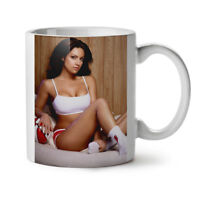 Sport Hot Model Girl NEW White Tea Coffee Mug 11 oz | Wellcoda