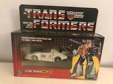 Transformers G1 Vintage Autobot Wheeljack ReISSUE mint in box Decals Unapplied