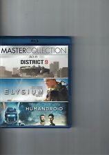BLU-RAY - DISTRICT 9+ELYSIUM+HUMANDROID - MATER COLLECTION - 2016
