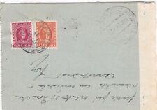Biglietto Postale regno 1940 con rare marche da bollo
