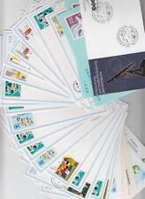 Uno Sammlung Wien Postkarten, Aerogramme, GA, insgesamt 21 Karten mit Marken