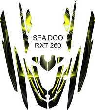 SEA DOO 260 RXT jet ski wrap graphics pwc stand up jetski decal kit 3