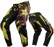 NEW ONE INDUSTRIES CARBON ROCKSTAR  ATV  MX BMX RACING PANTS  size 32