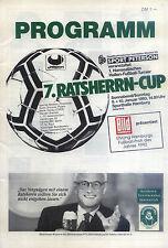 09./10.01.1993 DFB-Masters Hamburg mit Spartak Moskau, Ruch Chorzow, Hertha, ...