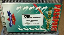 LEARNING MULTIPLICATION Video Tutorial Service VHS instruction NEW Passport Math