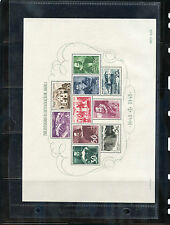 ANGOLA  Sc 314a(SG MS 433A)**VF NH 1948 TERCENTENARY SOUVENIR SHEET, $600