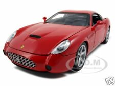 FERRARI 575 GTZ ZAGATO RED 1:18 DIECAST MODEL CAR BY HOTWHEELS P9887