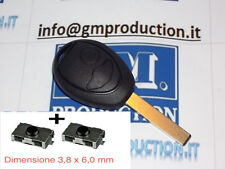 GUSCIO COVER SCOCCA PER CHIAVE KEY CLE TELECOMANDO BMW MINI COOPER ONE +2 Switch