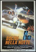 "KING OF THE MOUNTAIN 1981 Original Movie Poster 39x55"" 2Sh Italian NOSSECK CARS"