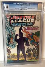 JUSTICE LEAGUE OF AMERICA #34 - CGC 9.4 - JOKER APPEARS - OW/W  PAGES