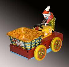 Wyandotte Easter Mechanical Rabbit & Basket Hand Car No. 801 - Ship Worldwide