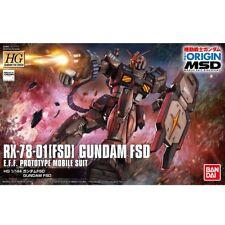 JAPAN Bandai HG 1/144 RX-78-01 Gundam FSD THE ORIGIN MSD Plastic Kit W/ TRACKING