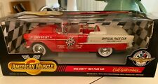 1/18 ERTL 1955 CHEVROLET BEL AIR CONVERTIBLE INDY PACE CAR FACTORY SEALED