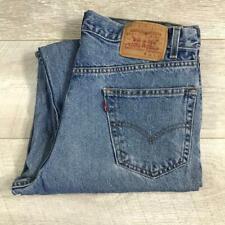 """Mens LEVIS 550 Blue Stonewashed 34""""W 30""""L Vintage Denim Jeans 550s #F3725"""