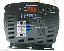 12 v DC TO 110 volt AC portable power inverter SOLAR RV SEMI 3000w 25a 6000 WATT