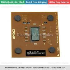 Axda3200dkv4e AMD Athlon XP 3200+ 2.20ghz 400mhz 512kb l2 Sockel A CPU OEM