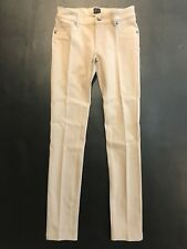 NWT Bebe tan nude stretchy zipper front skinny tight fit legging pants M Medium
