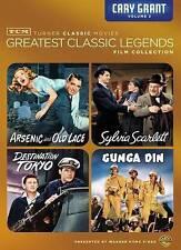 Cary Grant Classics Vol 2 (4 Disc DVD B&W FS) Gunga Din Arsenic & Old Lace ++