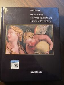 Hergenhahn's An Introduction to the History of Psychology (Hardcover)