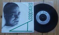 "The Associates A 7"" Post punk"