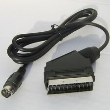 RGB Scart Cable Lead TV Wire for both PAL and NTSC Sega Saturn - COPPER SHIELDED